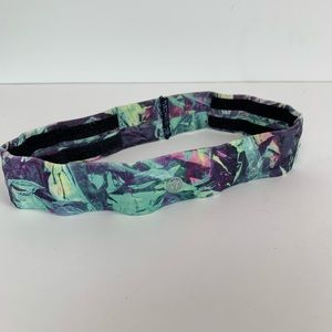 Lululemon iridescent multi yoga headband